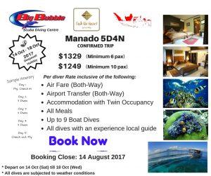 Manado Diving Trip @ Manado